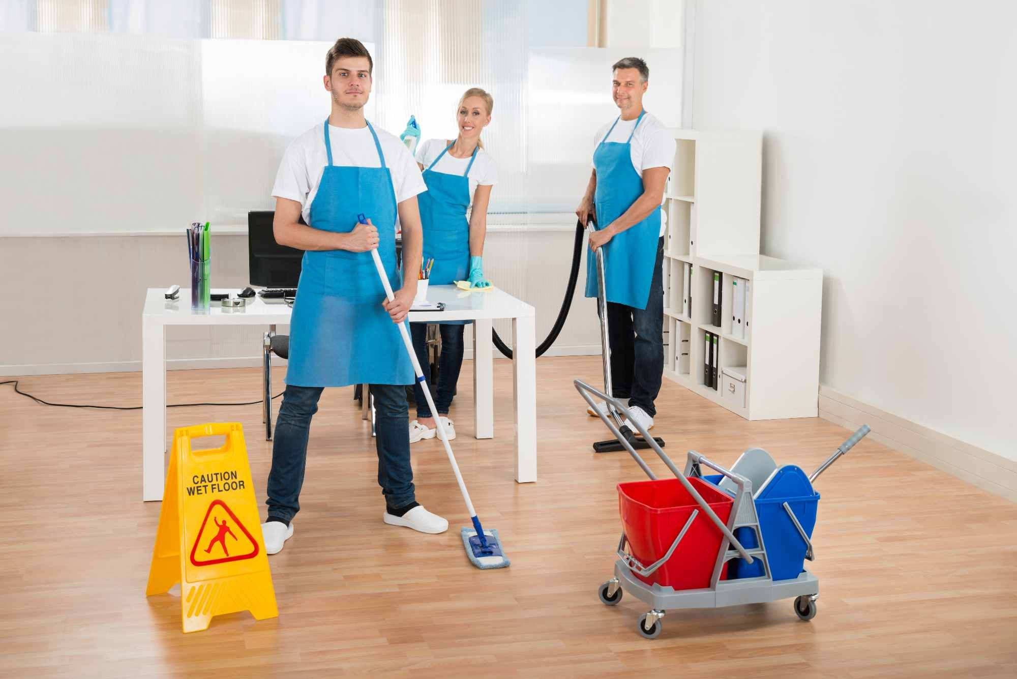 commericial cleaning
